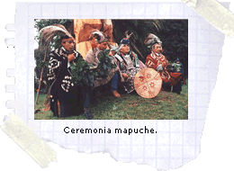 Ceremonia mapuche.