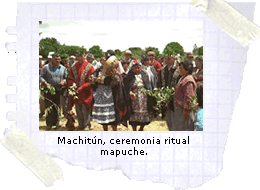 Machitún, ceremonia ritual mapuche.