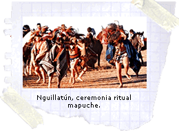 Nguillat�n, ceremonia ritual mapuche.
